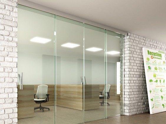 Beslag til glass skyvedør
